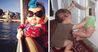 Estas fotos demonstram que ter um filho pode ser muito divertido!