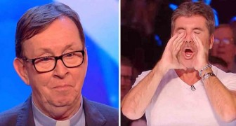 De hemelse stem van Father Ray Kelly verrast de juryleden en het publiek van Britain's Got Talent