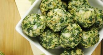 Albondigas de espinaca: la receta veloz y facil de preparar, que tambien los niños amaran