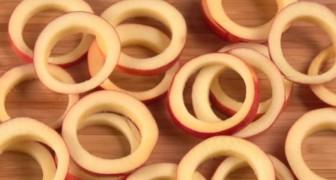 Hur man förbereder kanelstekta äppelringar som din gom inte kommer att glömma