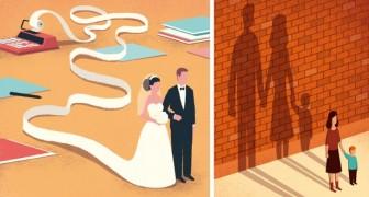 19 süß-saure Illustrationen über unsere alltägliche Realität