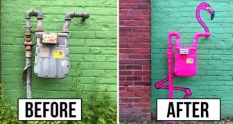 Es gibt einen genialen Künstler, der die städtischen Plätze vandalisiert...und wir hoffen dass ihn keiner aufhält!
