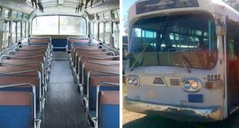Emplea 3 años para transformar un viejo autobus en una casa: el resultado final es totalmente inesperado