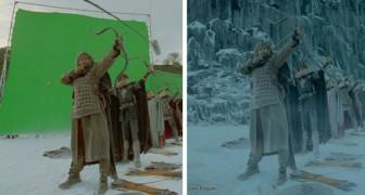 Prima degli effetti speciali: 13 immagini ci svelano l'aspetto originario di alcuni film famosi