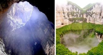 Les images à couper le souffle des 12 gouffres les plus profonds et les plus spectaculaires de la Terre