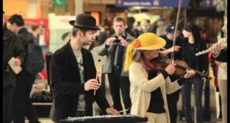 Improvisation am Westbahnhof Wien