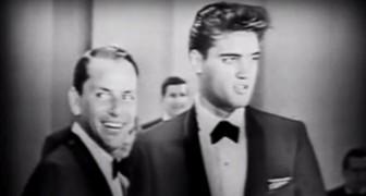 Ein seltenes Video von Frank Sinatra, das Duett mit Elvis: Hier ist ein unumgängliches Stück Musikgeschichte