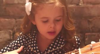 Lilla Claire har skapat en ny sång som har redan blivit populär hos miljoner människor