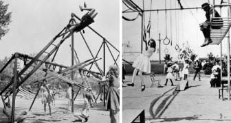 14 parchi gioco d'epoca così pericolosi che stenterete a credere siano esistiti davvero