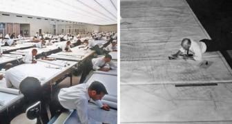 La vie avant AutoCAD : ces photos nous montrent à quel point le travail des designers était fatigant.....