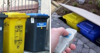 Fatigué des poubelles visibles ? Voici plus de 30 idées pour les rendre plus supportables.