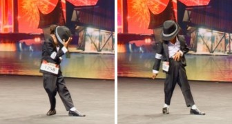 A four-year-old boy imitates Michael Jackson and his talent dwarfs even professional dancers!