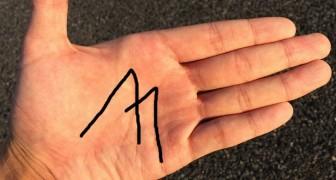 Hast du ein M auf deiner Hand? Das bedeutet es nach der alten Kunst der Chiromantie