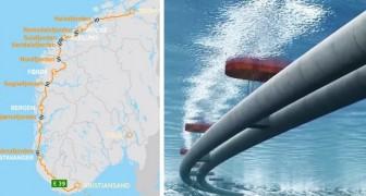 Es ist das größte Projekt, das jemals in Norwegen gebaut wurde: hier ist die 47 Milliarden Autobahn, die alle Fjorde verbindet