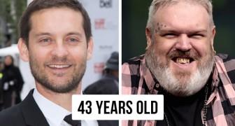 12 comparaisons entre personnes célèbres qui vont vous faire comprendre leur véritable âge
