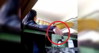 She was stealing from the cash drawer, then the owner set up a mousetrap --- Here is the moment of discovery!