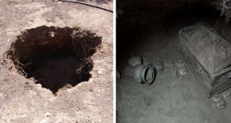 Een boer parkeert z'n auto op de verkeerde plek en ontdekt een 3500 jaar oud graf