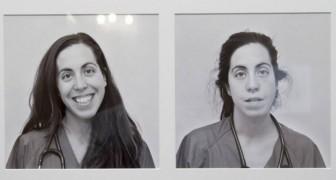 Ärzte, die vor und nach einer 24-Stunden-Schicht in der Notaufnahme fotografiert wurden: Das ist das wahre Gesicht der Medizin.