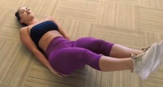 6 exercices faciles à faire à la maison pour des abdominaux PARFAITS
