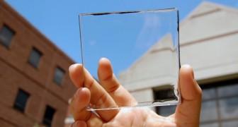Questi pannelli solari trasparenti trasformano le finestre in raccoglitori di energia green