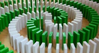 Fantasticos diseños con el domino
