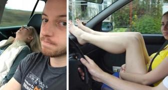 8 hele gevaarlijke dingen die we dagelijks doen in de auto zonder dat te weten