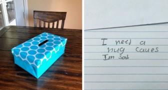 Une enseignante crée la boîte aux envies : quand elle lit les souhaits des enfants, elle est très surprise.