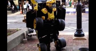 Il trasformers di strada più cool