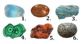 Kies één van deze 6 stenen... en ontdek wat het over jou onthult
