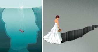 Un illustratore spiega i problemi della società contemporanea con dei disegni incredibilmente suggestivi