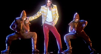A hologram brings Michael Jackson back to life for a few minutes