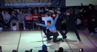 Breakdance: du haut niveau!