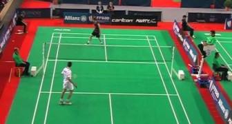 Die außergewöhnliche Schnelligkeit von Badmintonspielern