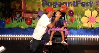 Dancing with his disabled child, the gift that fills Kenzie's heart with love