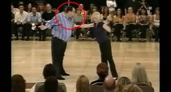 Dit dansende koppel verraste het publiek met een memorabel optreden