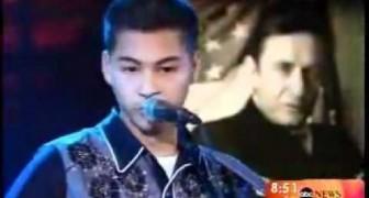 Vous ne réussirez pas à croire que ce garçon de 15 ans chante comme Johnny Cash