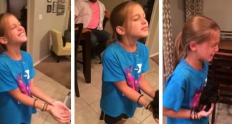 She Receives the Gift of her dreams and her reaction is priceless