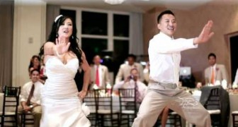 The traditional first dance? No way, this is another level!