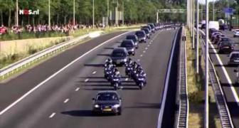 Die Niederlande begleiten die 193 Opfer des Flugs Malaysia Airlines 17 auf ihrem letzten Weg