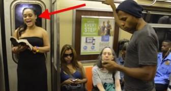 Era un giorno normalissimo nella metro di New York fin quando loro non hanno aperto bocca