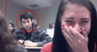 Hilarious moment during lecture...You have to watch this!