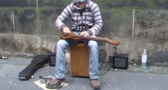 A l'écouter, on dirait un groupe de musiciens et pourtant il est tout seul!