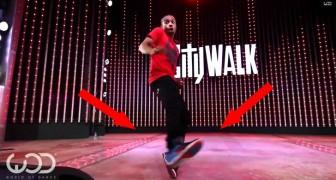Street dance: les mouvements au ralenti de ce danseur vous scotcheront à l'écran