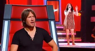 Er zijn slecht seconden nodig om te snappen dat dit een van de mooiste stemmen van The Voice is