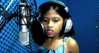 Dit meisje laat u versteld staan: ze zingt als Celine Dion en heeft slechts 10 jaar!