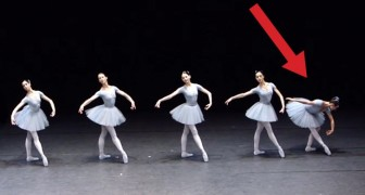 This dancer has a short memory: here's how a ballet can become hilarious!