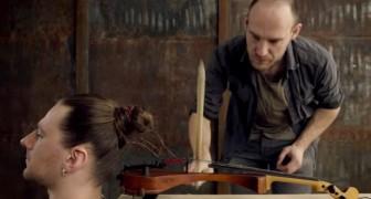 Jeder macht Musik auf seinem Lieblingsinstrument, aber das ist wirklich einzigartig