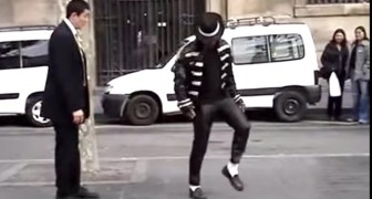 Een missionaris omtmoet Michael Jackson: hun optreden verwonderd de voorbijgangers