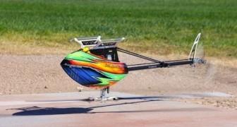 On dirait un simple hélicoptère? Attendez quelques secondes et… que le spectacle commence!