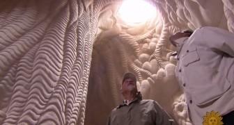 Ein Mann lebt 25 Jahre unter der Erde: Was er erschaffen hat sucht seingesgleichen